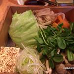 黒豚料理 寿庵 - 野菜