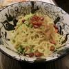 クレイジー餃子 - 料理写真:四川風混ぜそば850円
