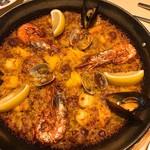 スペイン料理銀座エスペロ - 匙を外すとこうなる。