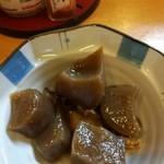 81995213 - コンニャクと牛肉の煮物350円