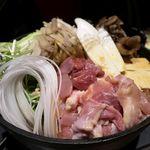 81996338 - 江戸すき焼き                       東京しゃもとあべどりの食べ比べ