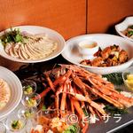 アクアブルー - 旬の食材を味わえるよう、各月設定されるテーマに沿った、バラエティ豊かな『ビュッフェ』