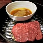 81997646 - 店一押し もも肉  生卵の特製ダレが美味い!