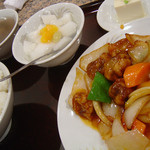 中国料理 鴻運楼 - 酢豚定食