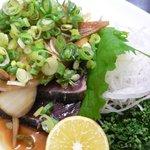 ももや食堂 - 鰹のタタキ