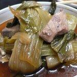 ももや食堂 - 青梗菜と鰹のおひたし