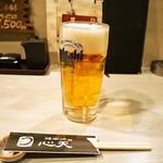 心天 - うなちゃんセット(生ビール)