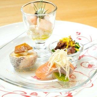 """世界の食材で""""日本の四季を味わう""""喜びを。"""