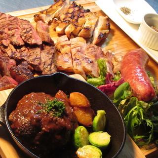 【日・月・火・木曜日限定!!】みんな大好き肉まみれ~