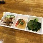 zuien - 前菜3種盛り
