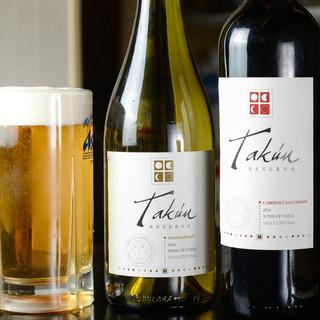 『今、飲みたい!』が叶う、豊富な種類のお酒で至極の乾杯!
