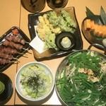 八郎酒場 - 春のもつ鍋コース
