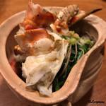 千陽 - たらば蟹と三関の芹