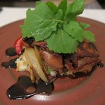 レストラン・ドゥースドゥース - 鶏のオーブン焼き