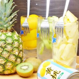 コールドプレスのレモンサワーが人気!日本酒や焼酎も豊富です◎