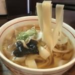 麺 銀三 - かけきしめん  リフト