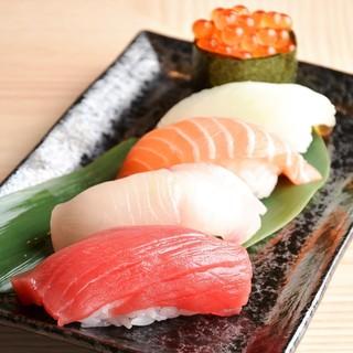 さくっと手軽にお寿司が楽しめる♪