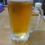 魚庭本店 - 生ビール