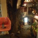コトノハ・mog-mog食堂 - 地下のお店です。