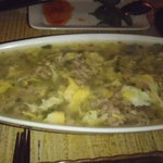 コトノハ・mog-mog食堂 - あぐーのひき肉とろとろあんかけチャーハン。
