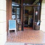 珈琲館もりやま - 入口付近