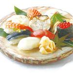 春夏秋冬 創食 飯台 - 料理写真:寿司膳