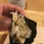 旬美にしかわ - 伊勢海老の手巻き寿司