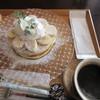 ジャストカフェ - 料理写真:バナナパンケーキドリンクセット