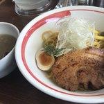 麺部屋 綱取物語 - アンチョビつけ麺