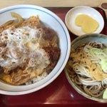 あかし庵 - 海老丼(¥900)