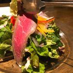 肉バル バーレイウィート - サラダのローストビーフリフト