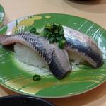 大河すし - ◆鰯(260円)・・身が厚く美味しい。