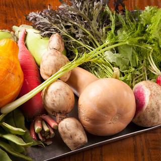 野菜や卵は地産地消♪美味しくて安心・安全なヘルシーイアリアン