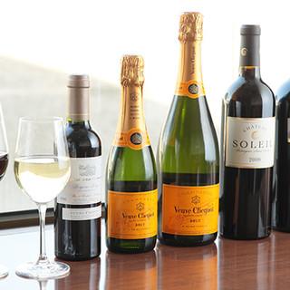 料理に合ったワインも多数ご用意