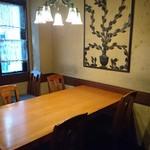 かいせき あづま路 - 2階テーブル席