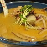 自家製麺 啜乱会 - 料理写真:牡丹味噌らーめん 1280円
