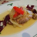 ガストーラ - 中札内田舎どりと新玉ねぎのブレゼ