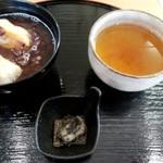 茶通仙 多田製茶 - ぜんざいのセット