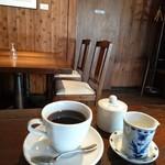 武相荘 - レストラン     セットのコーヒー