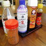 石井食堂 - 調味料類