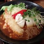 杵屋 - 春のカレーうどん(蕎麦ver)