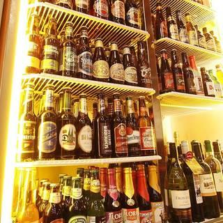 【関西最大級】豊富なビール60種でお待ちしております!
