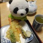 松月 - 天ぷらもいいころかげん♪