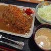 花蔵 - 料理写真:カツカレー(850円)