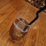 パッパーレナポリ - 冷たい桃の紅茶