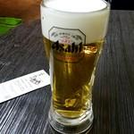 ニラカナ - 生ビール:216円