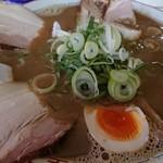 ラーメン麺雅 - ガチ煮干し