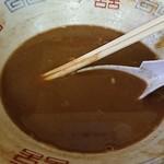 ラーメン麺雅 - ガチで濃いです(笑)