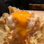 天ぷらスタンド KITSUNE - 海老と野菜のかきあげタレ