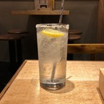 天ぷらスタンド KITSUNE - 塩レモンサワー